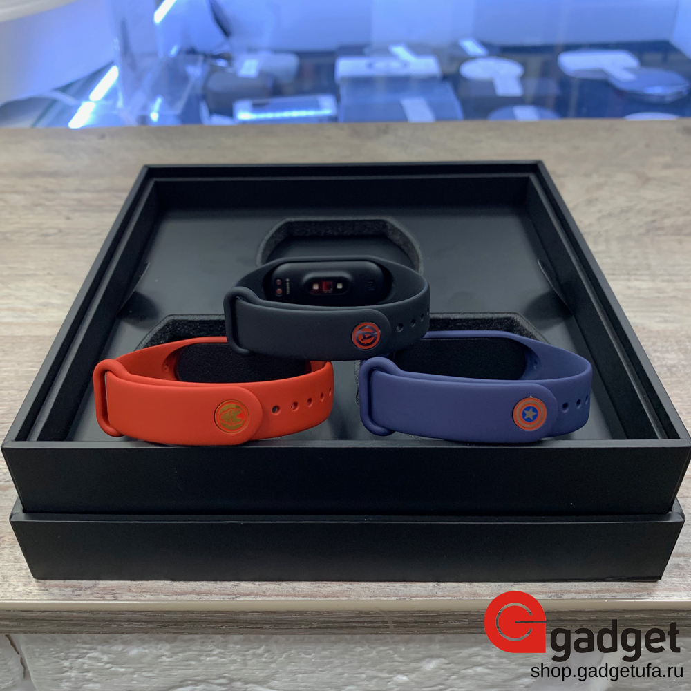 Mi Band 4 Avengers Limited Edition 1