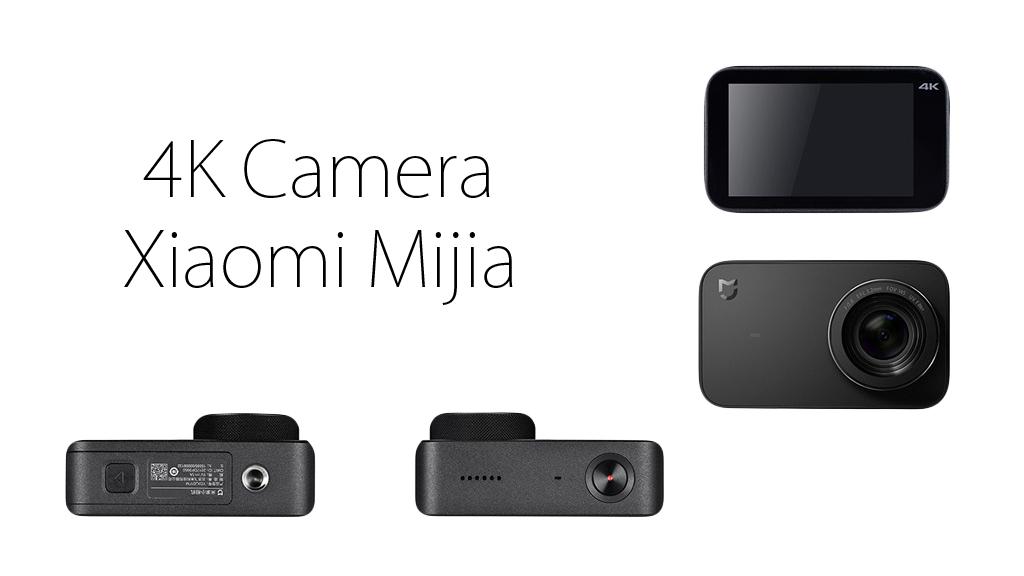 Экшн-камера Xiaomi Mijia 4K