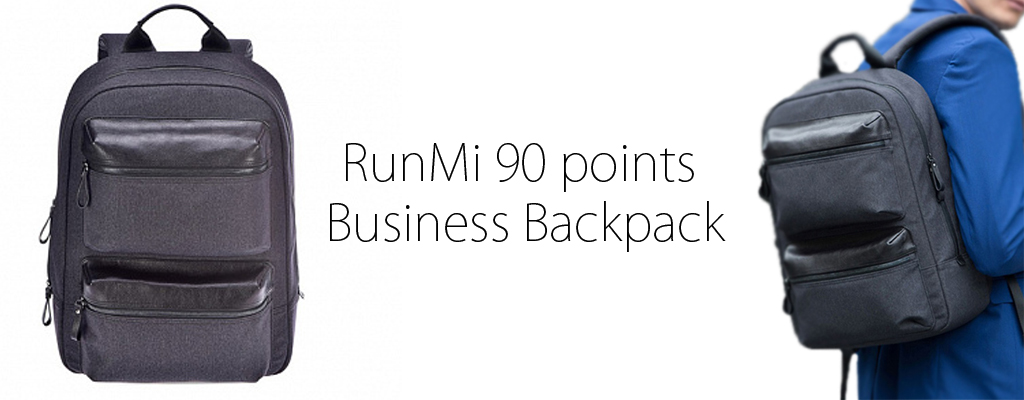 runmi 90 points business backpack