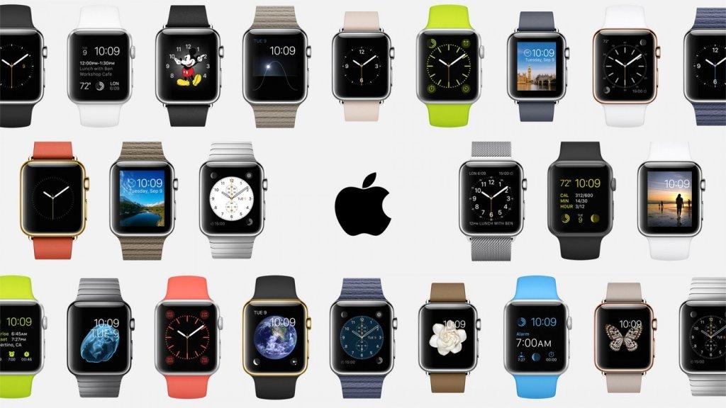 Разнообразие с Apple Watch.