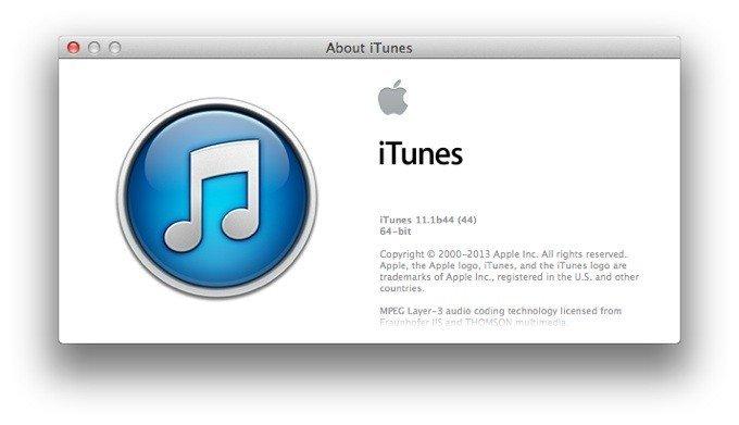 Вышли iTunes 11.0.5 и 11.1 beta 2