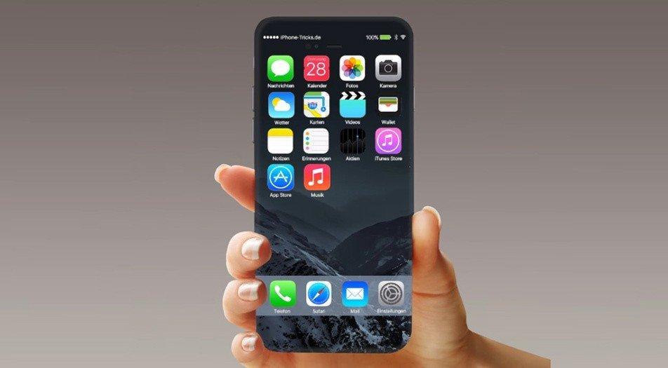 Слухи о новом Apple iPhone 8