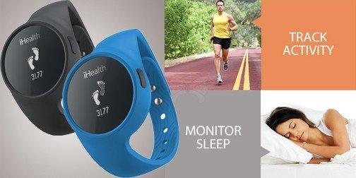 Браслет-часы iHealth Wireless Activity And Sleep Tracker