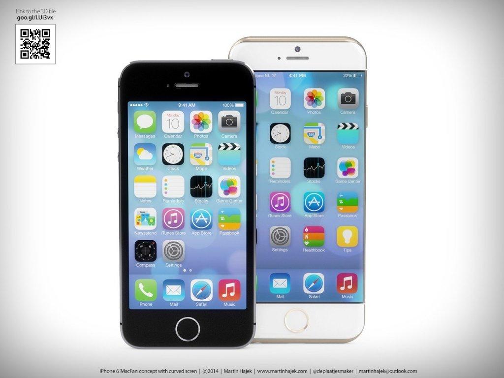 Новая порция слуxов об iPhone 6!