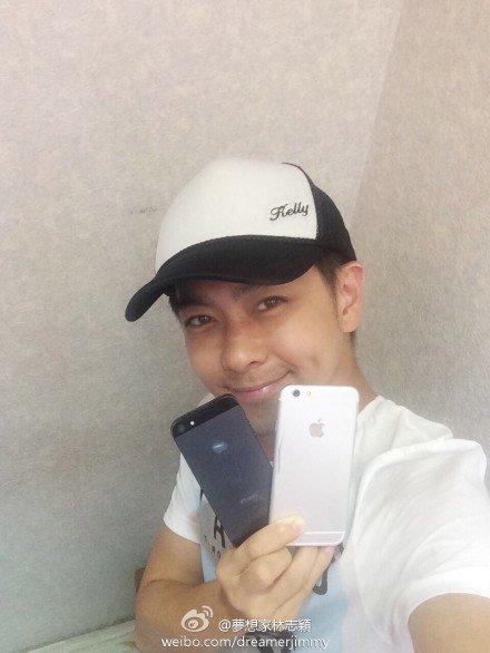 Тайваньский певец и актер сделал селфи с iPhone 6