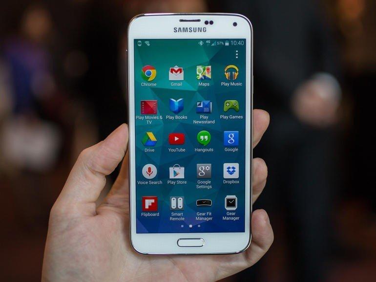 Samsung Galaxy S5 с поддержкой сотовых сетей LTE-A.