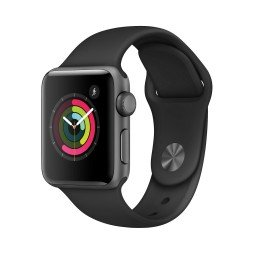 Часы Apple Watch Series 2 38mm Space Gray Aluminum Case with Black Sport Band купить в Уфе