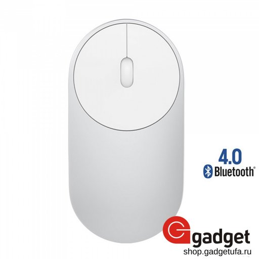 Беспроводная мышь Xiaomi Mi Portable Mouse Silver Bluetooth