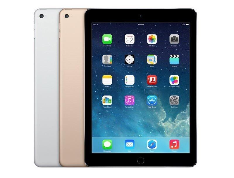 iPad Air 2 тоже легко гнется!