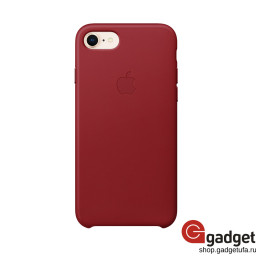 Чехол Apple Leather Case для IPhone 7/8 (PRODUCT)RED купить в Уфе