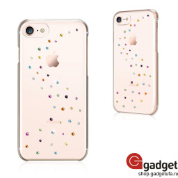Накладка Bling My Thing Milky Way для iPhone 7/8 с кристаллами Swarowski Cotton Candy купить в Уфе