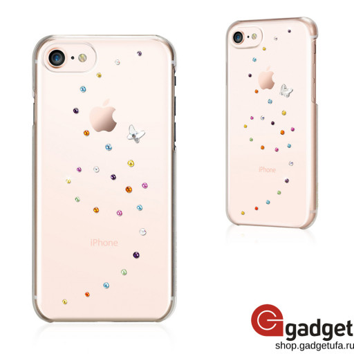Накладка Bling My Thing Papillon для iPhone 7/8 с кристаллами Swarowski Cotton Candy