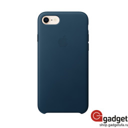 Чехол Apple Leather Case для iPhone 7/8 Cosmos Blue купить в Уфе