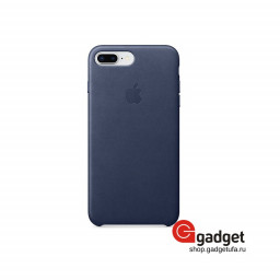 Чехол Apple Leather Case для IPhone 7/8 Plus Midnight Blue купить в Уфе
