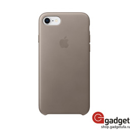 Чехол Apple Leather Case для iPhone 7/8 Taupe купить в Уфе