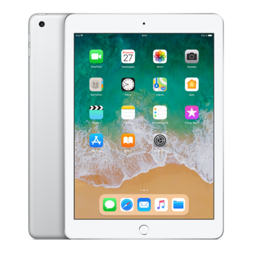 Планшет Apple iPad 2018 32Gb Wi-Fi Silver