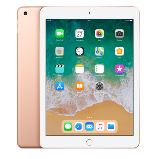 Планшет Apple iPad 2018 128Gb Wi-Fi Gold