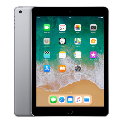 Планшет Apple iPad 2018 32Gb Wi-Fi + Cellular Space Gray