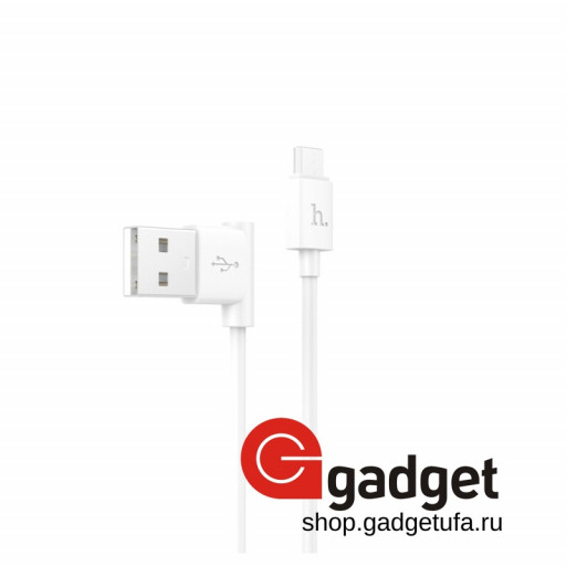 USB кабель HOCO CABLE Quick Charge & Data для Apple Device UPL11 White 1.2m