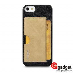 Накладка Vetti Craft для iPhone 5/5s Prestige Card Holder Black/Vintage Khaki купить в Уфе