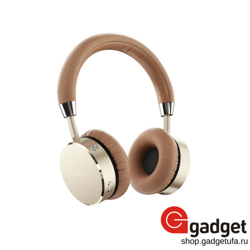Наушники Satechi Bluetooth Aluminum Wireless Headphones - золотистые
