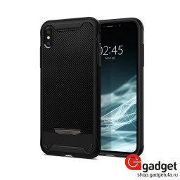 Накладка Spigen для iPhone XS Max Hybrid NX черная 065CS24944 купить в Уфе