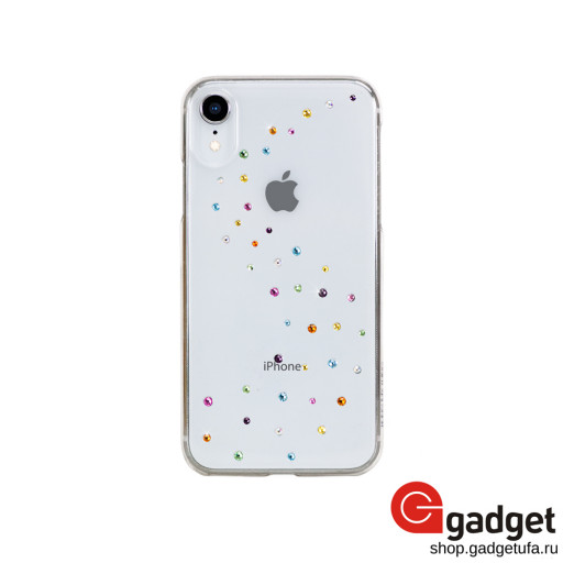 Накладка Bling My Thing Milky Way для iPhone XR с кристаллами Swarowski Cotton Candy