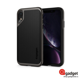 Накладка Spigen для iPhone XR Neo Hybrid Jet Black купить в Уфе