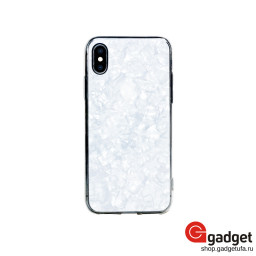 Накладка Bling My Thing для iPhone X/Xs с кристаллами Swarovski Chic Collection White Pearl купить в Уфе