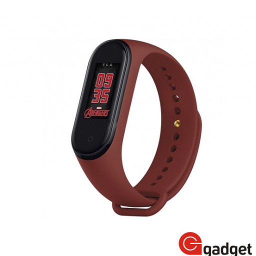 Фитнес браслет Xiaomi Mi Band 4 Avengers Series Limited Edition черный
