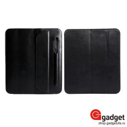 Чехол-книжка Jisoncase leather case для ipad Mini 5 with pencli slot черная купить в Уфе