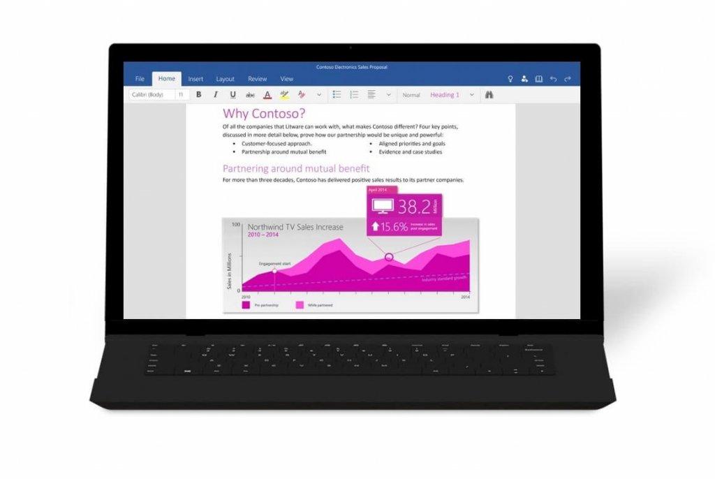 Майкрософт Офис 2016 попал в сеть