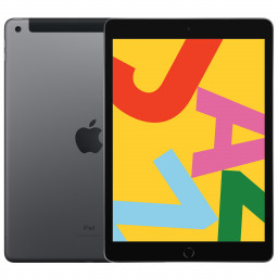 Планшет Apple iPad 2019 32Gb Wi-Fi + Cellular Space Gray купить в Уфе