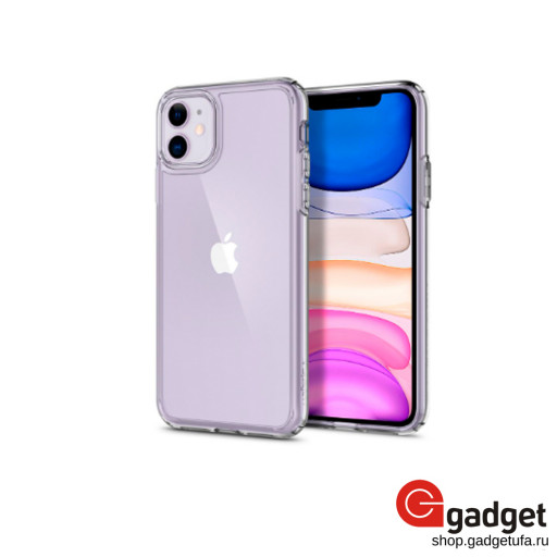 Накладка Spigen для iPhone 11 Ultra Hybrid прозрачная
