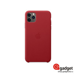 Чехол Apple Leather Case для IPhone 11 Pro (Product) Red купить в Уфе