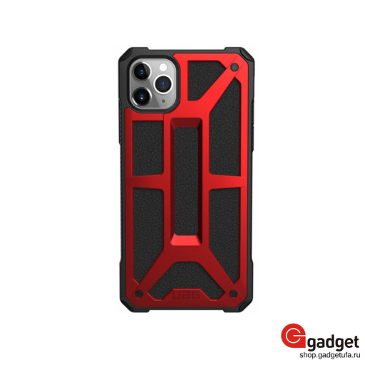Накладка UAG для iPhone 11 Pro Max Monarch красная