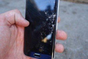 Первые краш-тесты Galaxy S6 и Galaxy S6 Edge
