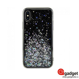Накладка SwitchEasy Starfield для iPhone X/XS Ultra Black купить в Уфе