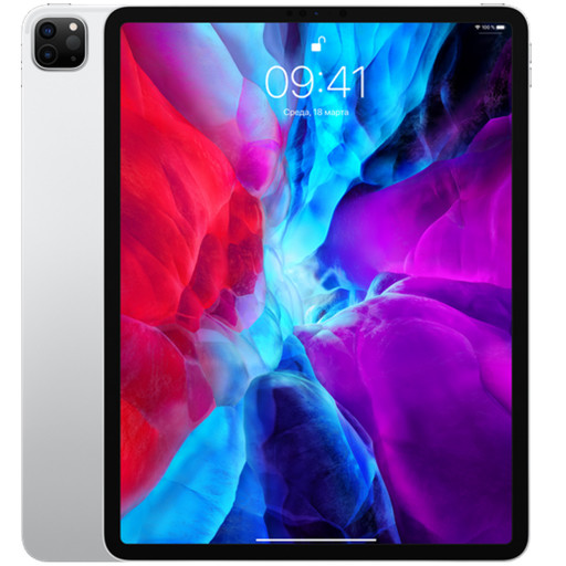 Планшет Apple iPad Pro 12.9 (2020) 256Gb Wi-Fi + Cellular Silver