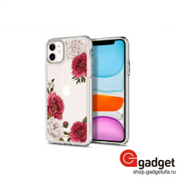 Накладка Spigen для iPhone 11 Ciel Cecile Red Floral купить в Уфе