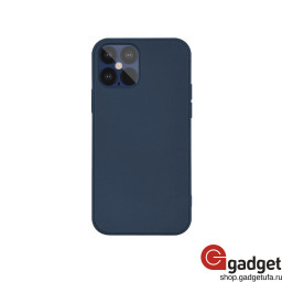 Накладка G-Case для iPhone 12 Max Original Series Sillicon Case Midnight Blue купить в Уфе