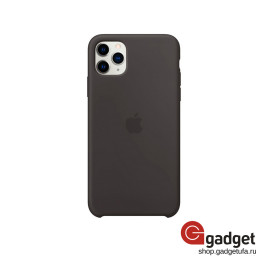 Чехол Apple Silicone Case для iPhone 11 Pro Max Black купить в Уфе