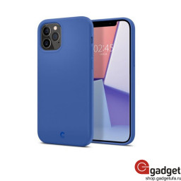 Накладка Spigen для iPhone 12/12 Pro Cyrill Silicone Navy купить в Уфе