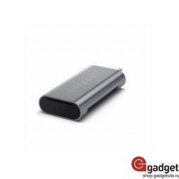 Кардридер Satechi Aluminum Card Reader ST-TCUCM Space Gray купить в Уфе