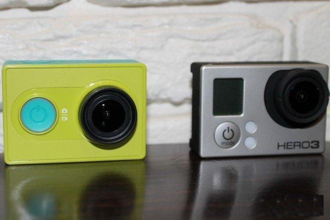 Шикарная экшн-камера Xiaomi Yi action