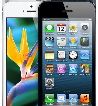 Новое поступление! Apple iPhone 5 ref. черные и белые.