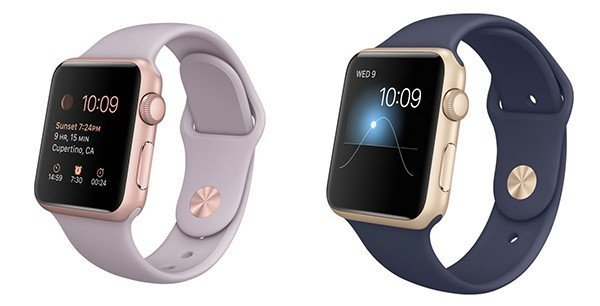 "Apple Watch Sport в корпусе ""Rose Gold"" и ""Gold"" в GadgetUfa"