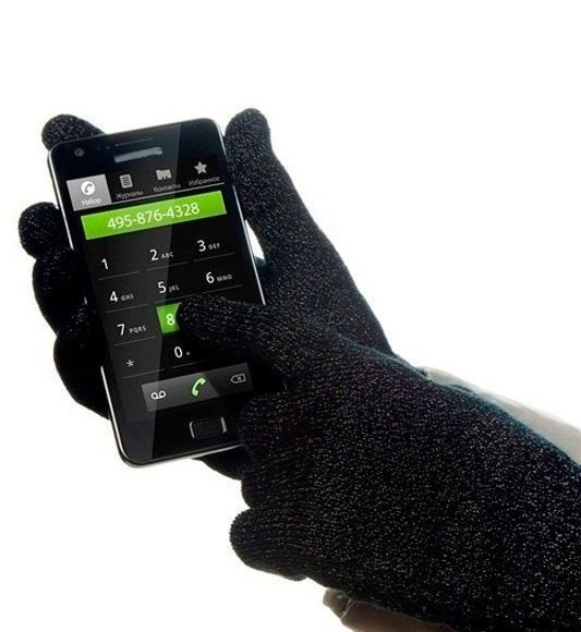 Перчатки для сенсорных дисплеев Glove