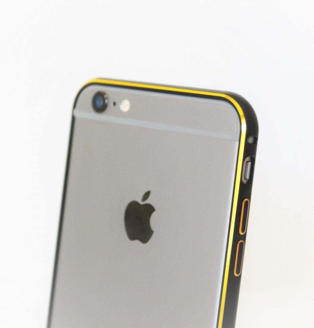 Металлические бампера для iPhone 6 от 290 рублей!