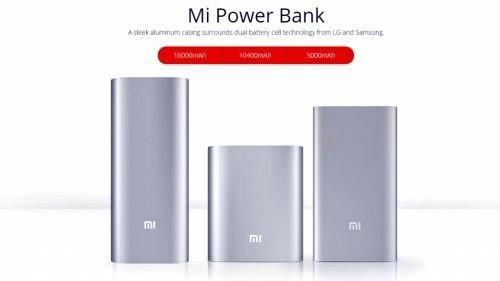 Внешние аккумуляторы Xiaomi Mi Power Bank 5000-16000mAh